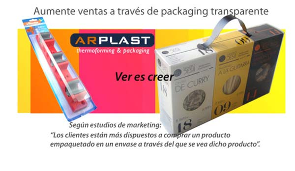 packaging y termoconformados Arplast