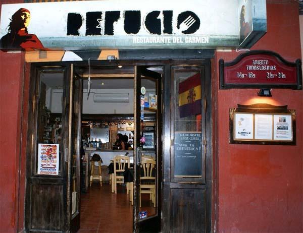 Restaurante El Refugio - Barrio del Carmen - Valencia