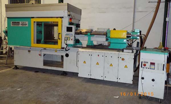 Máquina inyectora de plástico en Ormet