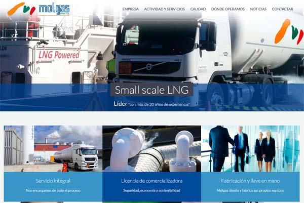 Molgas empresa líder en Gas natural Licuado