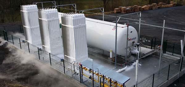 Plantas satélites de Gas Natural Licuado GNL