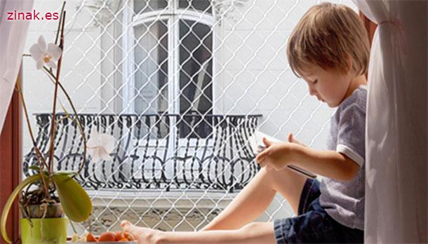 Zinak, instalacion de redes de seguridad niños