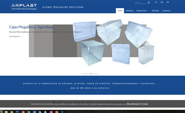Cajas plástico – Packaging personalizado | Arplast