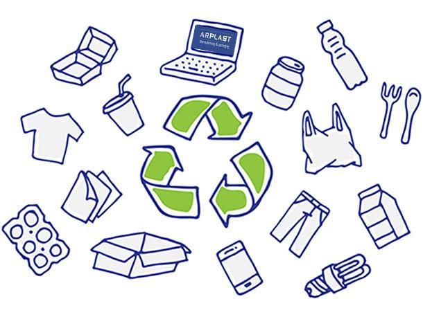 Arplast, fabricación de plásticos reciclables