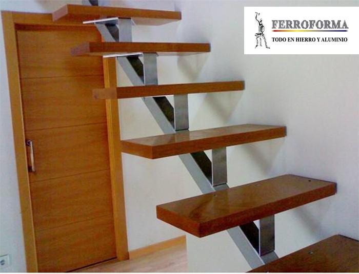 barandilla de acero inoçxidable y escalera, Ferroforma