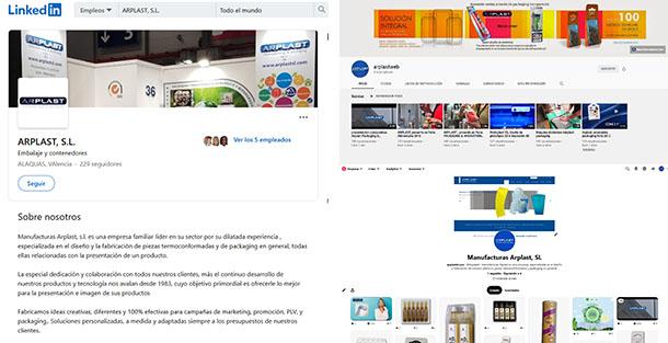 Manufacturas Arplast reactiva sus Redes Sociales